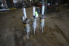 S/S Ronningen-Petter Filter Housings, M/N DCF-800, with Top Mounted Cylinders, Mounted on S/S