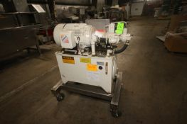 Marlen 25 hp Hydraulic Unit, M/N 6312075-01, S/N 631-823, with Baldor 1700 RPM Motor, Mounted on S/S