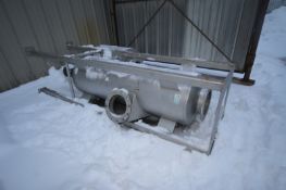 Universal Silencer Vessel, M/N UWVS-10, S/N 194787-1-07-1, Vessel Length: Aprox. 6' L, with