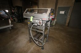 """Settler Infeed Conveyor, with Aprox. 16"""" W Conveyor Belt, with Nord Drive, Mouned on Frame ("""