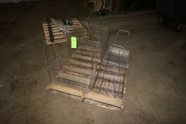Pallet of Assorted S/S Wash Baskets, Assorted Sizes (LOCATED IN APPLETON, WI) (Rigging,