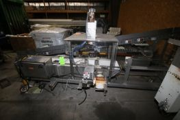 """S/S Orientor, with Straight Section of Conveyor, with Aprox. 12"""" W Plastic Interlock Belt, with S/"""