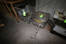 S/S Totes On Casters, 1-with S/S Lid (LOCATED IN APPLETON, WI) (Rigging, Handling, & Site Management