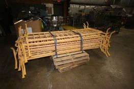 """Steel Barricades, Overall Dims.: Aprox. 92"""" L x 40"""" H (LOCATED IN APPLETON, WI) (Rigging,"""
