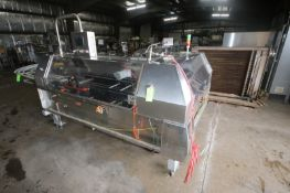 Bradman-Lake Carton Sealer, S/N 15648, 240 Volts, 3 Phase, with Allen-Bradley PanelView 600, with
