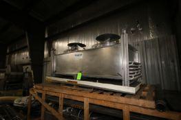 Frigid Coil 2-Fan Ammonia Condenser (LOCATED IN APPLETON, WI) (Rigging, Handling, & Site