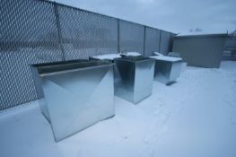 Assorted Duct Work, Assorted Sizes, 2-Sections with Internal Fan Sections (LOCATED IN APPLETON,
