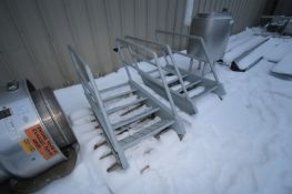 4-Step Steel Stairs with Hand Railings (LOCATED IN APPLETON, WI) (Rigging, Handling, & Site