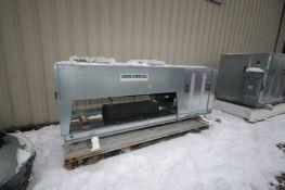 Mueller 2-Fan Refrigeration Condenser Unit, M/N ACU1A010M5N042PMF3, S/N 091512, Refrigerant R404A,