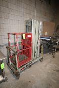 MEC Man-Lift, M/N 24D, S/N 750230, Max. Lift Capacity 300 lbs., Max. Platform Height 24 FU,