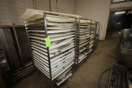 S/S Racks with Plastic Molder Plates, Assorted Shapes & Sizes, Includes S/S Portable Racks (