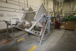 BULK BID BLANCHING, SLICING & CURING LINE INCLUDES LOTS 50-60: Lyco S/S Blancher, Centurion S/S