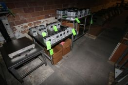 S/S Tables, with Bottom S/S Shelf & Assorted S/S Shelves (LOCATED IN GRAND ISLAND, NE) (Rigging,