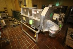 Urschel S/S Shredder, M/N OV, S/N 1029, with S/S Infeed Chute, Mounted on S/S Frame (LOCATED IN
