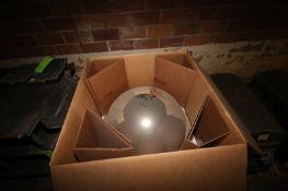 NEW Safety Mirror, In Cardboard Box (LOCATED IN GRAND ISLAND, NE) (Rigging, Handling, & Site