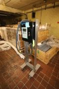 MarkEM Ink Jet Coder, M/N 9064, Ink Head, Mounted on S/S Portable Frame (LOCATED IN GRAND ISLAND,