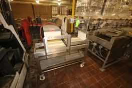Johnson Cheese Equipment Inc. Harp Cheese Cutter, M/N CJ-4002, S/N 102489 CLORAX, with (2) Installed