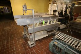 Key S/S Shaker Deck, M/N 113212, S/N 18-611111-2, Aprox. 7' L, Mounted on S/S Frame (LOCATED IN