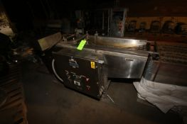 "Stein S/S Fryer, M/N FA-5, S/N 102, with Aprox. 14"" W Mesh Conveyor, Mounted on S/S Frame (LOCATED"
