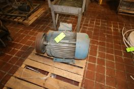 Leeson 60 hp Motor, 1770 RPM Motor, 208-230/460 Volts, 3 Phase (LOCATED IN GRAND ISLAND, NE) (