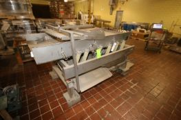Key S/S Shaker Deck, M/N 113212, S/N 00-61111-1,Aprox. 7' L, Mounted on S/S Frame (LOCATED IN