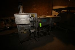 """Stein S/S Breader, with Aprox. 33-1/2"""" W S/S Mesh Belt, with Aprox. 2-1/2"""" H Clearance,"""