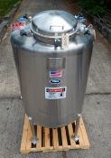 300 GALLON PHARMACEUTICAL GRADE PROCESS TANK BY T & C STAINLESS (MT. VERNON, MO), SERIAL