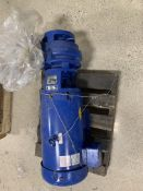 CARVER CENTRIFUGAL PUMP, MODEL 6HC 3X25X7 BF, S/N 201994-1A, 3600 RPM, 15 FT HP, BALDOR RELIANCE