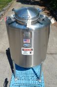 250 GALLON PHARMACEUTICAL GRADE PROCESS TANK BY T & C STAINLESS (MT. VERNON, MO), SERIAL