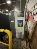 2018 ATLAS COPCO AIR COMPRESSOR, MODEL GA37VSD+ FF, S/N AP1838321, 50 HP, 185 PSI, 9000 R/MIN