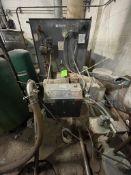 WEIL-MCLAIN POWERFLAME GAS HOT WATER BOILER, Model 1288, 20-HP, 3,000,000 BTU/HR, 9,704 STEAM SQ F