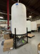 ACE ROTO-MOLD APPROX. 1,500 GALLON TANK WITH STEEL FRAME
