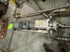 WRIGHT FLOW POSITIVE DISPLACEMENT PUMP, MODEL CPP RO66, 10 HP, 1770 RPM, 208-230/460