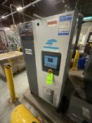 2014 ATLAS COPCO AIR COMPRESSOR, MODEL GA37VSD+ FF, S/N AP1823519, 50 HP, 185 PSI, 9000 R/MIN