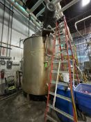 LEE 1,500 GALLON S/S FULLY-JACKETED KETTLE WITH TOP-MOUNT DUAL-MOTION AGITATION