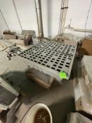 JUSTRITE SPILL CONTROL PALLET, (4) 55 GAL DRUM CAPACITY