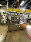 BARRY WEHMILLER / MATEER ROTARY DUAL AUGER CAN FILLER (PNEUMATIC SCALE), MODEL 6700-48, S/N 25649,