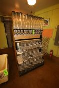 """Dispensing & Scooping Unit, Overall Dims.: Aprox. 48"""" L x 27"""" W x 84"""" H, with (1) Ingredient Bin ("""