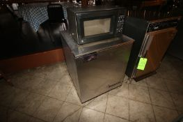 "Victory S/S Refrigerator, Overall Dims.: Aprox. 29-1/2"" L x 27"" W x 34"" H, Mounted on Casters,"