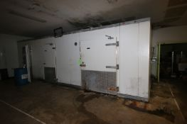 "Tyler 3-Door Refrigerator/Freezer, Overall Dims.: Aprox. 28' L x 144"" W x 105"" H (Located in"