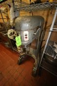 Hobart Commercial Mixer, M/N H-600, S/N 11-070-743, 208 Volts, 3 Phase, with S/S Mixing Bowl (