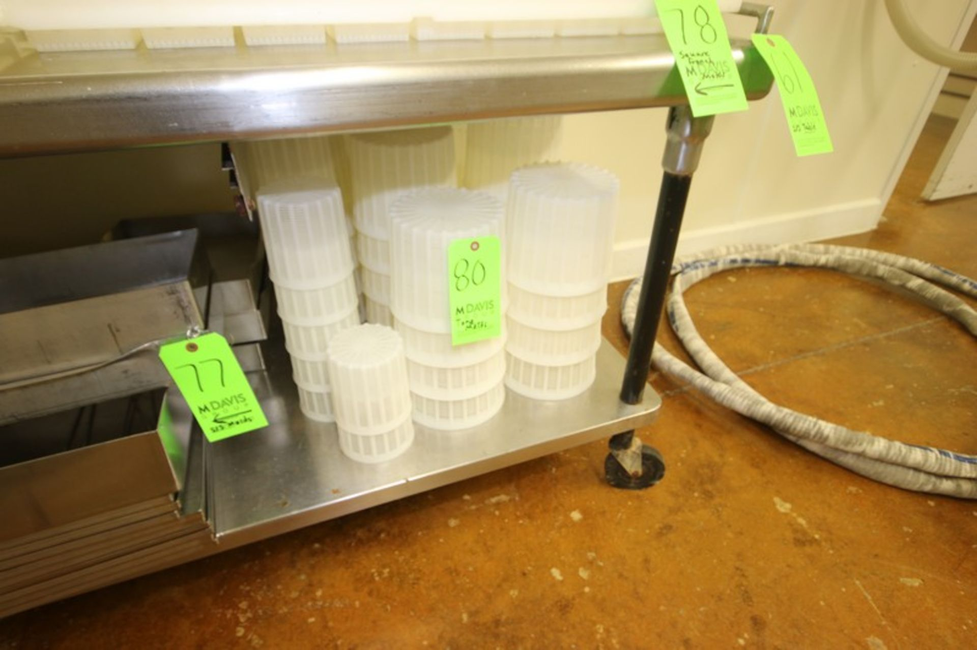 Assorted Tone Molds, Includes Assorted Basket Molds (Located in Adamstown, PA--Creamery)