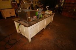 """S/S Table Top Table, Overall Dims.: Aprox. 107"""" L x 41"""" W x 32"""" H (Located in Adamstown, PA) ("""