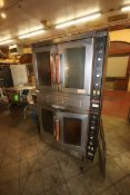 "Vulcan & Snorkel S/S Double Decker Ovens, Overall Dims.: Aprox. 40-1/2"" L x 37"" W x 75"" H, Mounted"