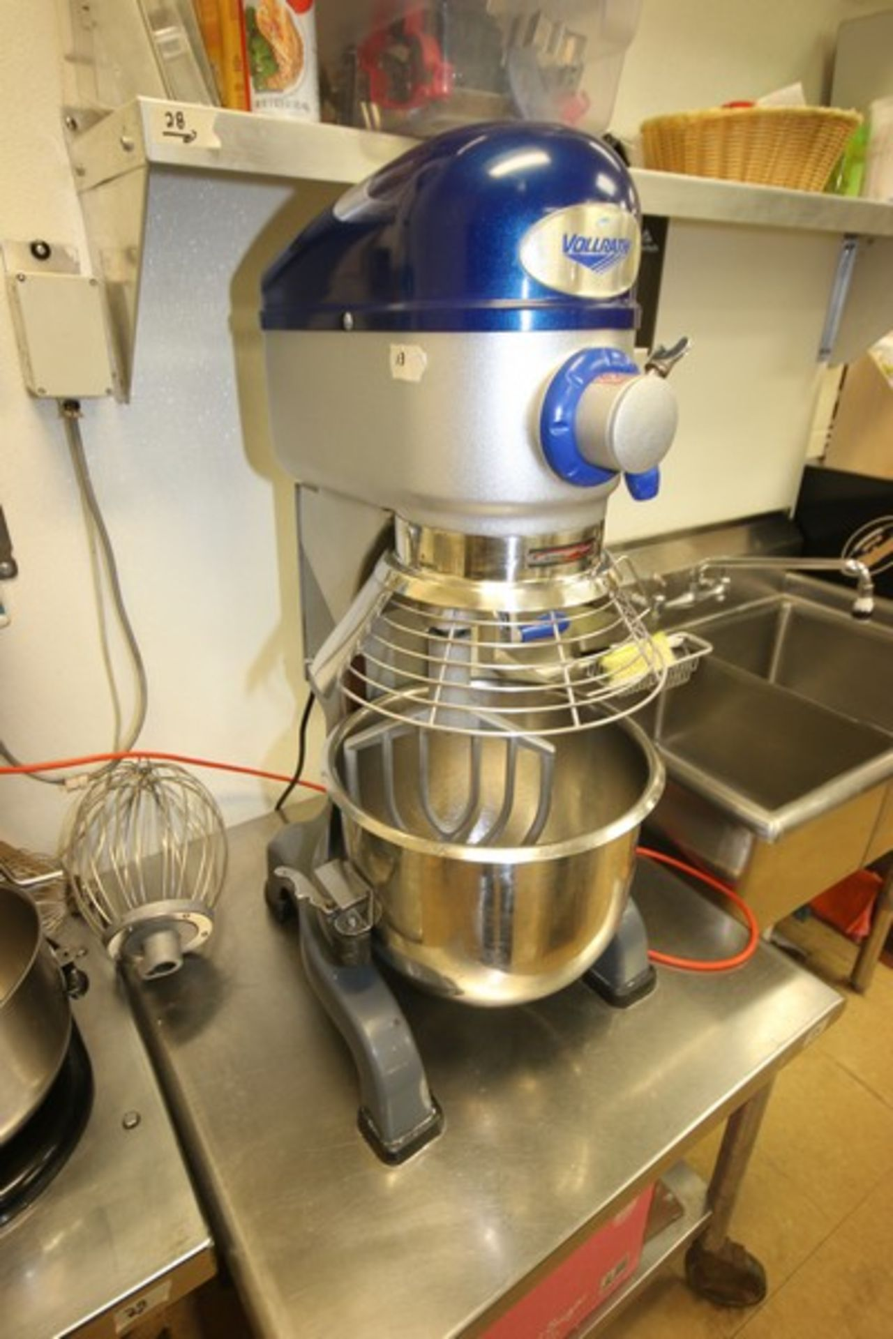 Vollrath Mixer, M/N MIX1020, S/N B42-00181983-0210, with 1/2 hp Motor, 110 Volts, 1 Phase, with S/ - Image 4 of 9