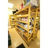 "6-Shelf Unit, with 1-Pair of Aprox. 84"" Tall Uprights & (5) Cross Beams Aprox. 96"" W, Overall Dims.:"