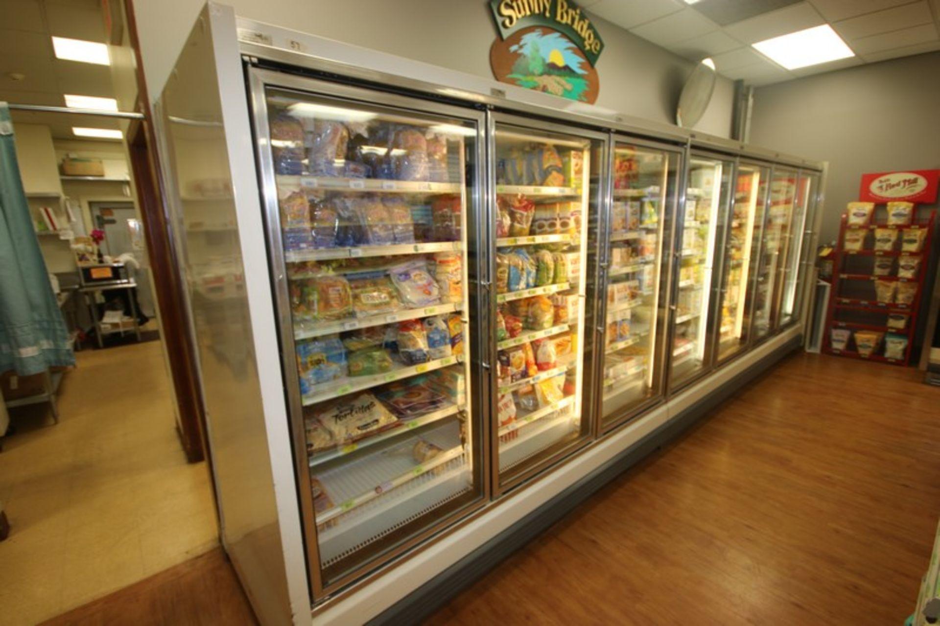 Hussman 3-Door Refrigeration Unit, M/N GEL-3, S/N 02BO1278-350, 115/208-230 Volts, 1 Phase, - Image 3 of 4