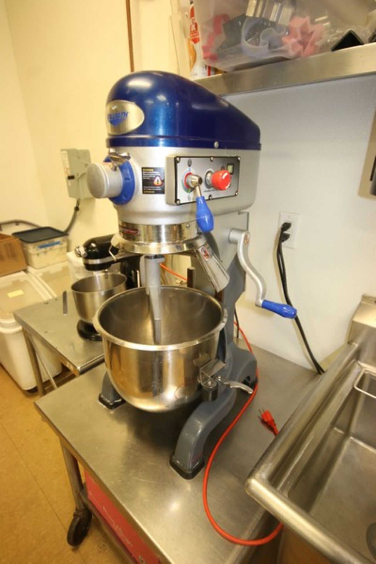 Vollrath Mixer, M/N MIX1020, S/N B42-00181983-0210, with 1/2 hp Motor, 110 Volts, 1 Phase, with S/ - Image 2 of 9