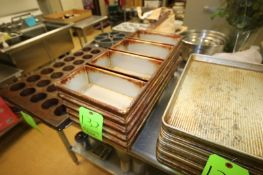 """Sets of 4-Wide Bread Molds, Internal Dims.: Aprox. 10"""" L x 5"""" W x 3"""" Deep (Located in McMurray,"""