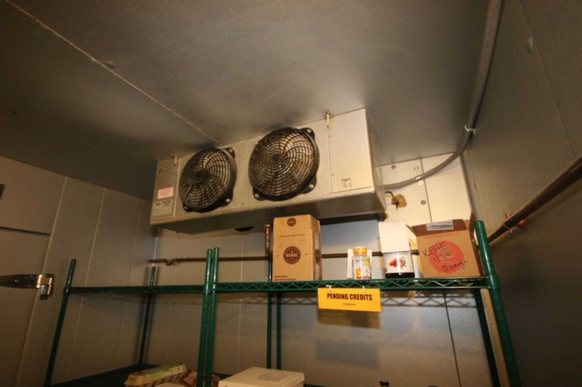 Harford Dual Compartment Walk-In Cooler & Freezer, M/N DR36788W5H8D, S/N XW703D9, Compartment Sizes: - Image 7 of 16
